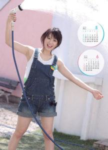 2010年北乃きいカレンダー 5月6月