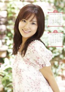 2010年長野美郷カレンダー 5月6月