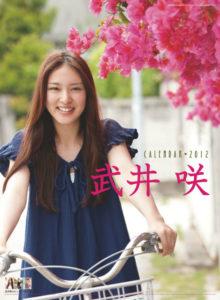 2012年武井咲カレンダー 表紙