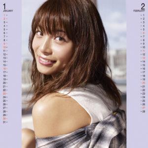 2011年相武紗季カレンダー 1月2月