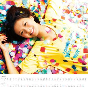 2011年榮倉奈々カレンダー 3月4月
