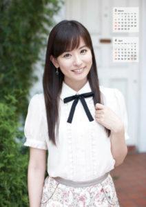 2011年皆藤愛子(セントフォース)カレンダー 3月4月