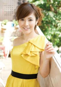 2011年杉崎美香(セントフォース)カレンダー 3月4月