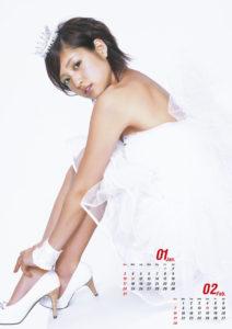 2010年折山みゆカレンダー 1月2月
