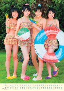 2011年スマイレージカレンダー 7月8月