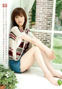 2012年杉崎美香カレンダー 9月10月