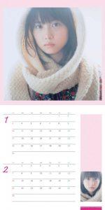 2010年志田未来カレンダー 1月2月