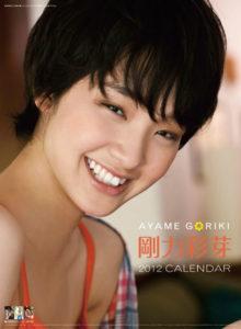 2012年剛力彩芽カレンダー 表示