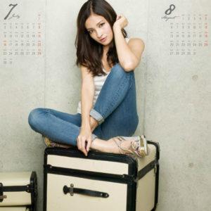 2012年黒木メイサカレンダー 7月8月
