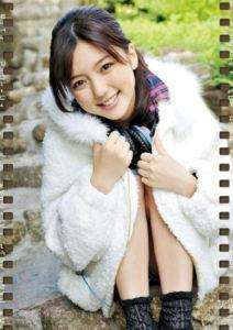 2012年高橋愛カレンダー 1月2月