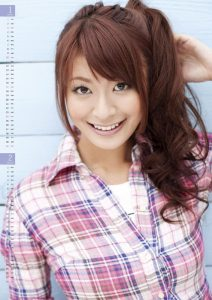 2010年八田亜矢子カレンダー 1月2月