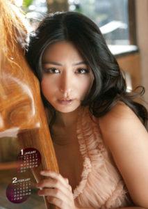 2012年川村ゆきえカレンダー 1月2月