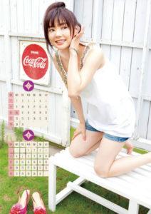2012年倉科カナカレンダー 7月8月