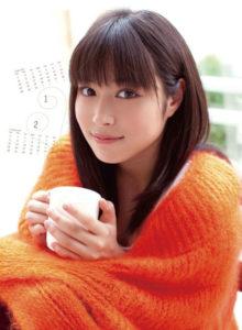 2012年広瀬アリスカレンダー 1月2月