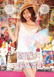 2011年にわみきほカレンダー 7月8月