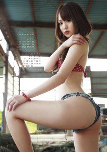 2010年浜田翔子カレンダー 5月6月