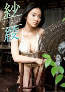 2013年紗綾カレンダー 表紙