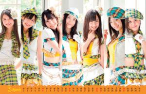 2011年卓上SKE48カレンダー 3月