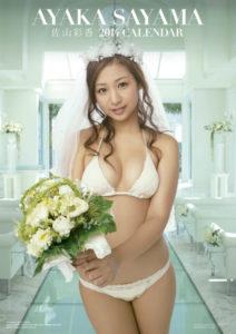 2014年佐山彩香カレンダー 表紙