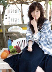 2015年蓮佛美沙子カレンダー 5月6月