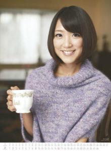 2014年テレビ朝日女性アナウンサーカレンダー 1月2月