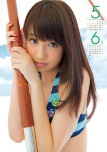 2014年石田佳蓮(アイドリング!!!)カレンダー 5月6月