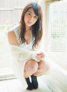 2015年柳ゆり菜カレンダー 1月2月