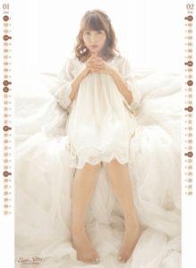 2015年新田恵海カレンダー 1月2月