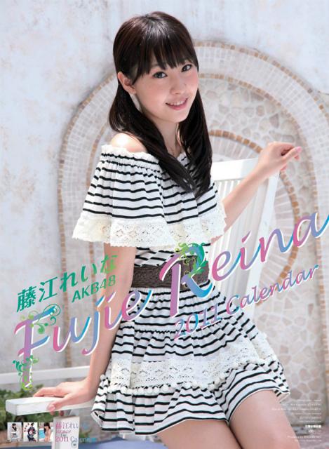 2011年藤江れいな(AKB48)カレンダー 表紙
