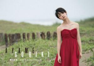 2017年卓上 剛力彩芽カレンダー 表紙